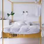 love this canopy bed from ikea and im not even a canopy