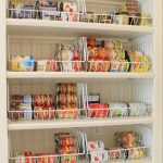 love this easy idea to use wire baskets to organize all of your
