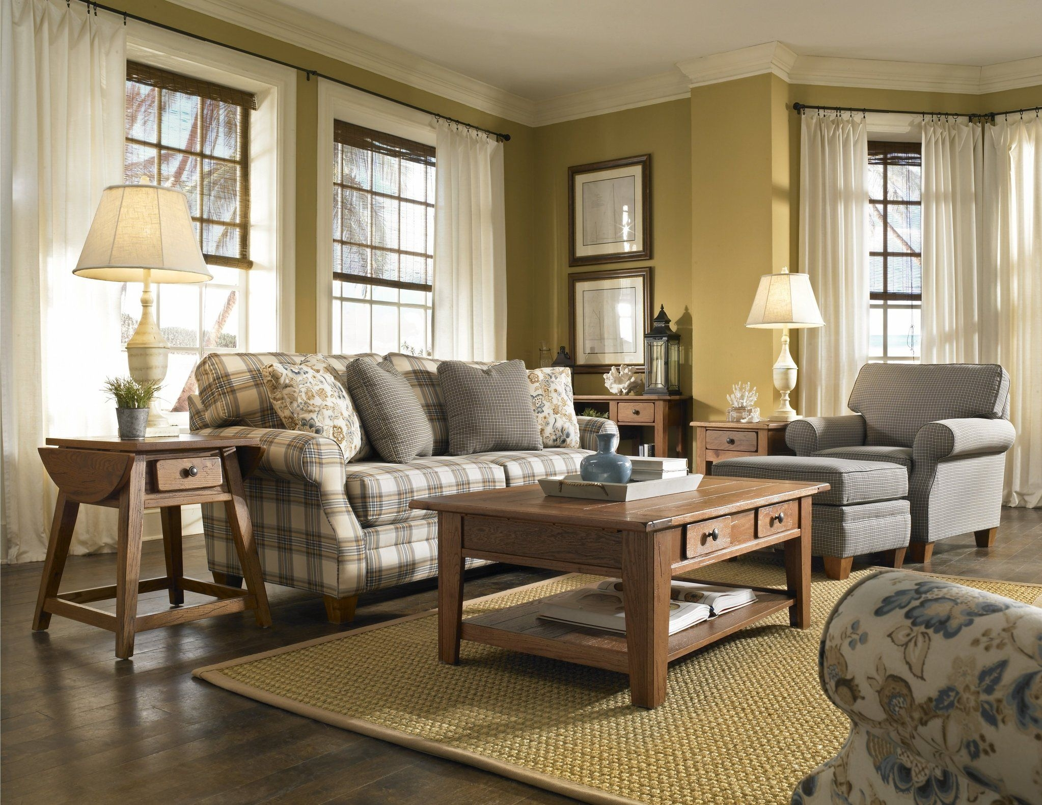 love this one angie country style rolled arm sofa set 11429