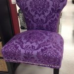 love this purple chair see the tag what a deal dining