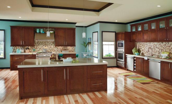 lovely brown kitchen cabinets to house decor plan medium