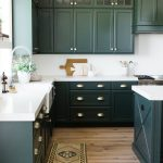 lovely kitchen cabinet paint colors with green kitchen