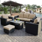 lovely wicker sectional patio furniture wicker sectional