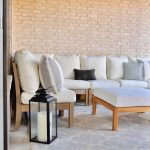 loving our patio outdoor sectional and outdoor pillows from
