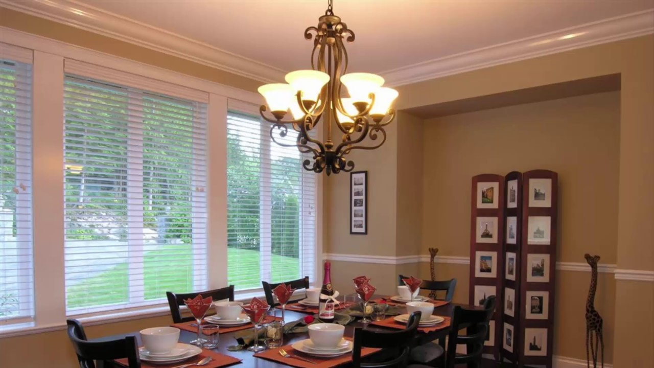 low ceiling dining room lighting ideas youtube