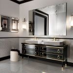 lutetia luxury art deco bathroom vanities nella vetrina bathrooms