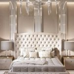 luxury modern master bedroom interior design and decor in