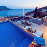luxury penthouse with rooftop pool stunning sea views 5 min stroll to town kalkan