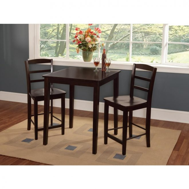 madrid 3 piece mocha bar table set in 2019 products