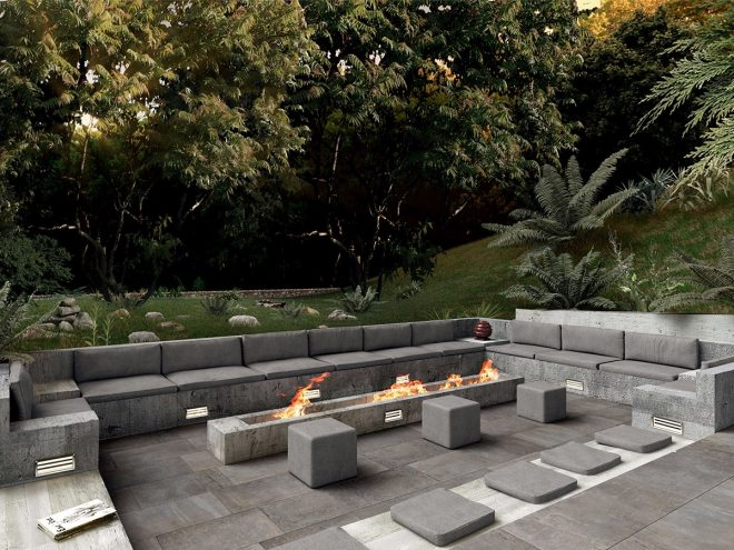 magical outdoor fire pit seating ideas area designs