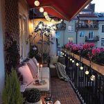 magical terrace vibes paris france photo