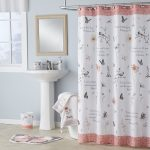 mainstays inspire fabric shower curtain multicolor 70 x 72 walmart