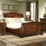 mandy wood standard 5 piece bedroom set sleigh bedroom set