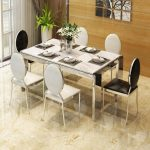 marble dining table and chairs dining table grey dining