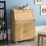 marlow home co hamlin secretary desk reviews wayfaircouk