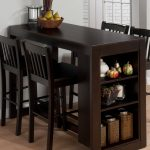 maryland merlot counterheight table great solution for a thin bar
