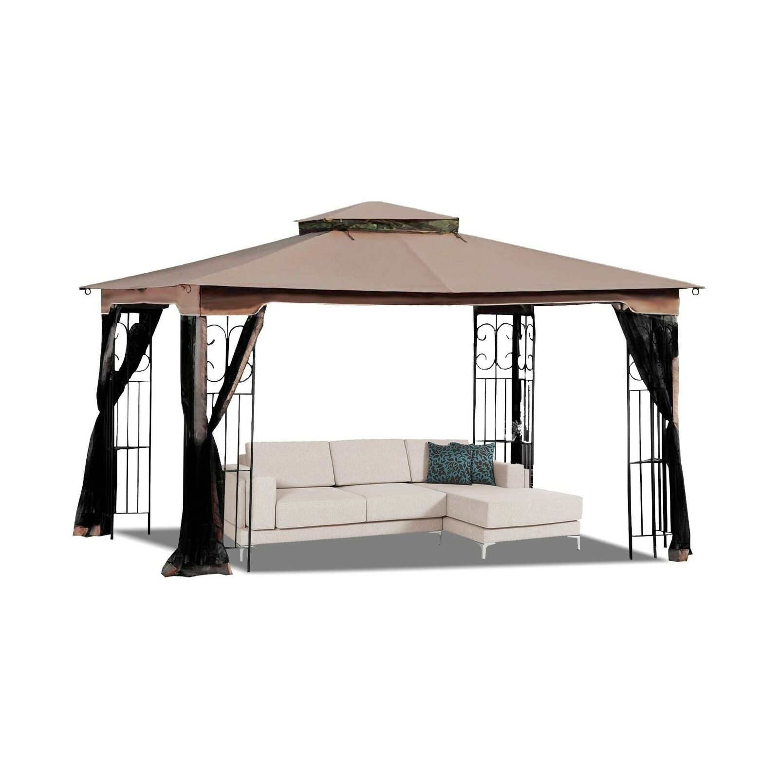 mastercanopy 10 x 12 gazebo replacement canopy roof for model gz798pst eon