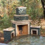 material equipped for the outdoor fireplace ideas givdo