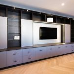 media living room cabinets fitted furniture hanging space