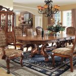 medieve 9 piece formal dining set