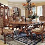 medieve dining room set antique oak furniture of america