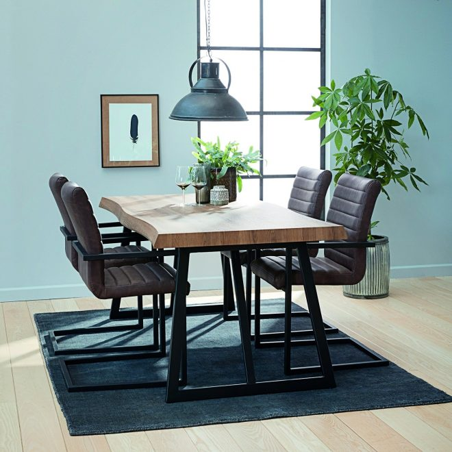melbourne table 4 chairs dining set