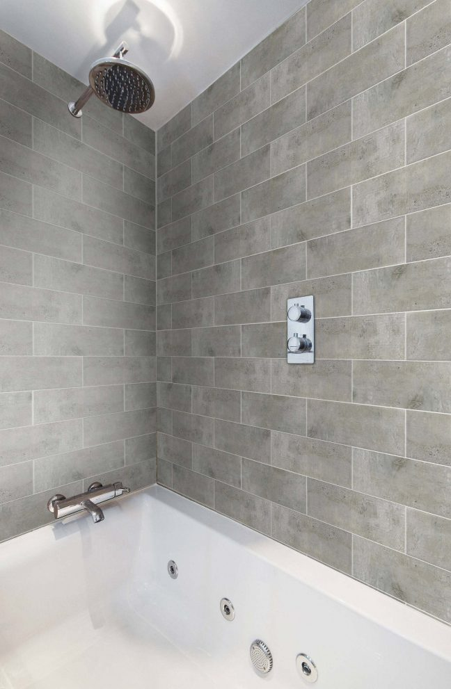memphis grey brick wall and floor tile tiles from tile mountain