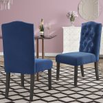 menard traditional upholstered dining chair