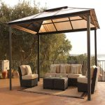 metal patio covered canopy best gazebo furniture sears kmart