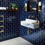 metro deep blue tile topps tiles