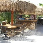 mexican thatch palapa and outdoor kitchen palapas and