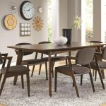 mid century modern dining table co 105351