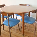 mid century modern viko chairs dining table picked vintage