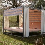 midi outdoor canopy bed architonic