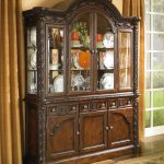 millennium north shore china cabinet with glass doors value city