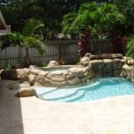 mini pools for small backyards rock pools natural springs pools