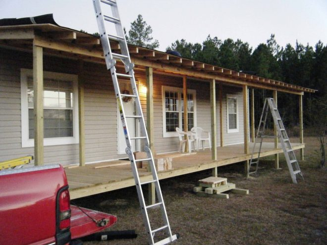 mobile home patio ideas 9 beautiful manufactured home porch ideas