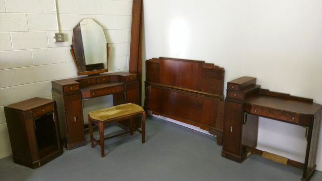 modern antique art deco bedroom furniture decor glass vintage design
