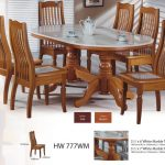 modern asian design solid wood dining table chairs with natural marble top hw 777wm buy oval solid wood dining tablemarble top dining table and
