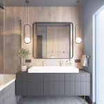 modern bathroom pendant lighting contemporary bathrooms modern