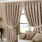modern curtain ideas for living room with bination color