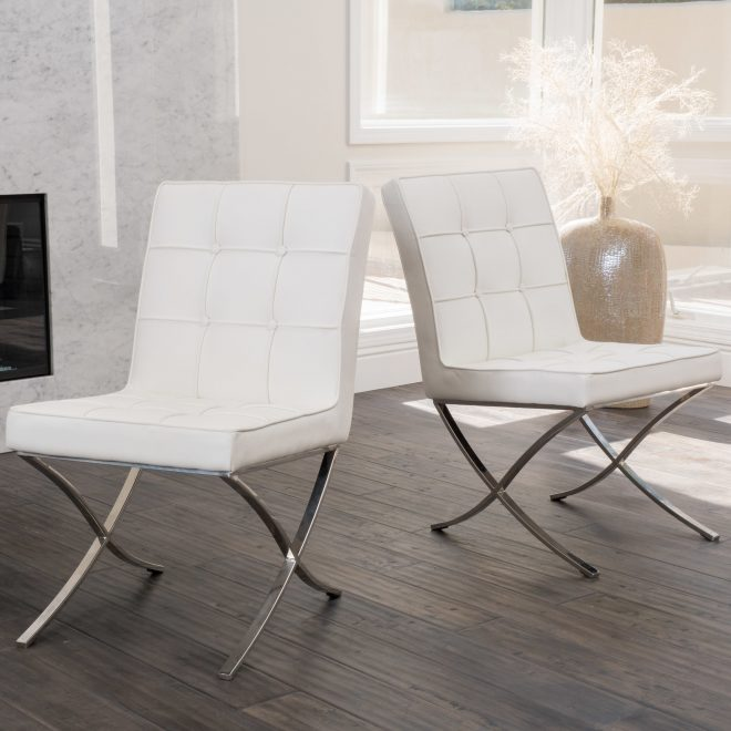 modern design white leather dining chairs sets white leather dining chairs leather dining room chairs