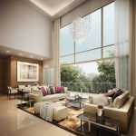 modern high ceiling living room google search