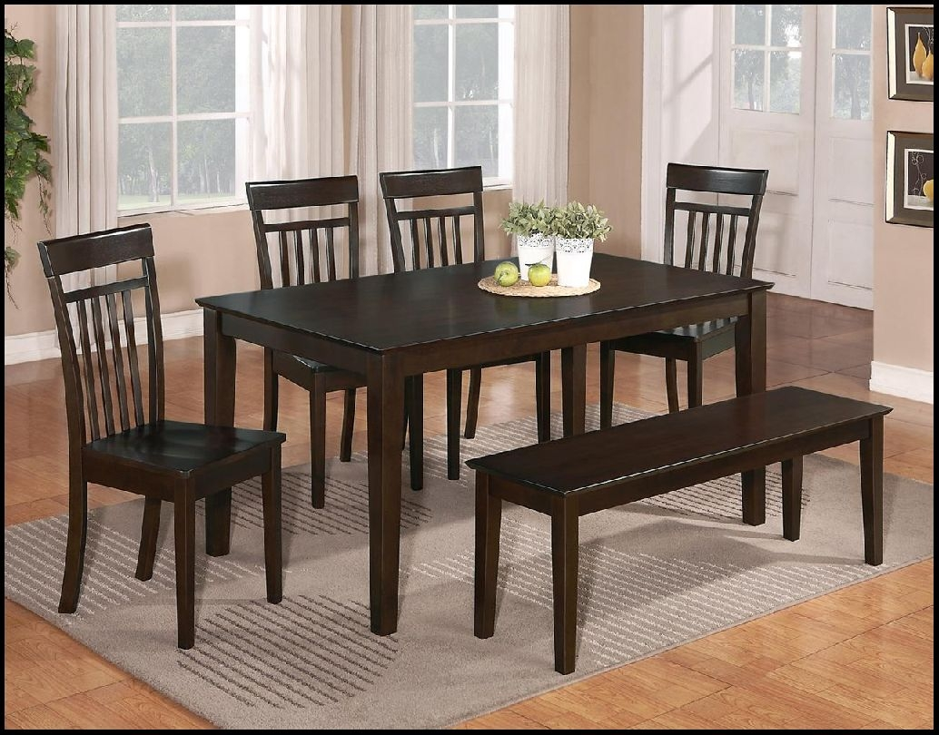 modern kitchen table set with bench and chairs sitiwhitegroook