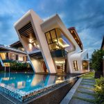 modern luxury home with amazing pool villa mistral mercurio