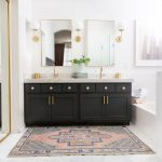 modern master bathroom remodel before and after the posh home
