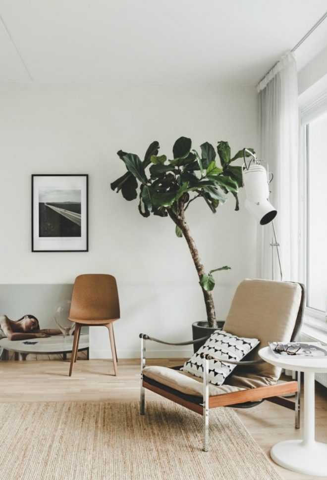 modern mid century modern apartment hege in france