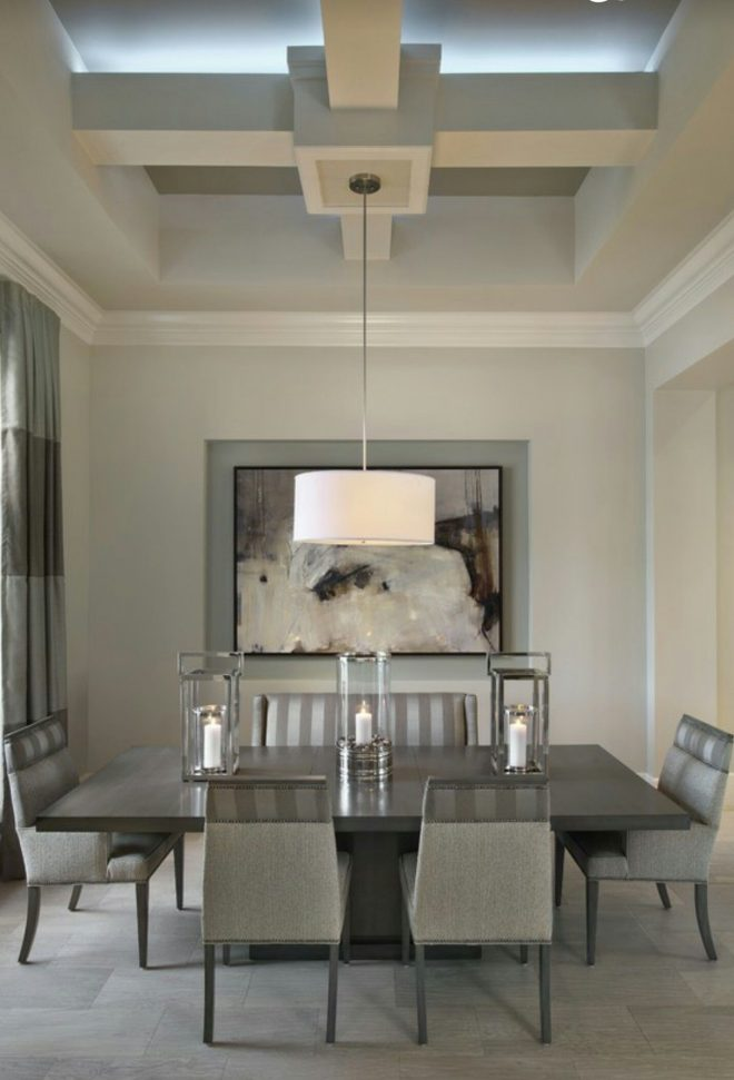 modern neutral dining room castle harbour homes neutral