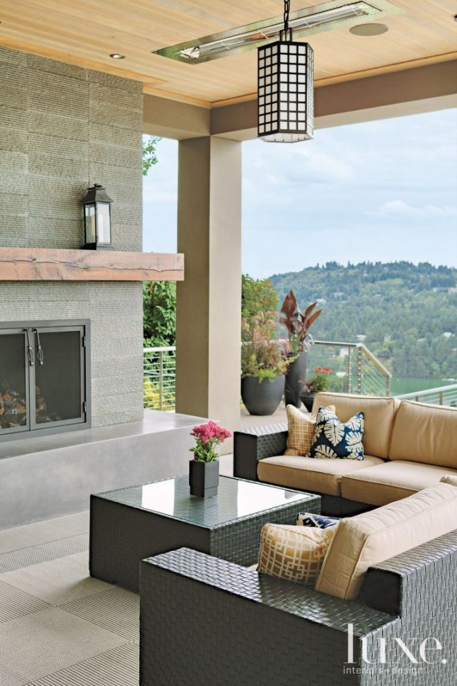 modern outdoor living room luxe seating areas modern outdoor