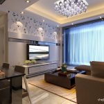 modern pop ceiling designs for small living room with dining
